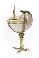 《オウム貝の杯》 1577年、オウム貝、銀、スコークロステル城、スウェーデン Skokloster Castle, Sweden
