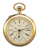 スプリットセコンド付懐中時計 アメリカ 20世紀