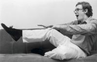 ダニエル・ハーディング(指揮者) 2001年11月26日撮影 「僕はフットボールの選手になりたかった。」