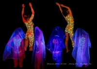 アメージング企画個展 蛍光アートの世界