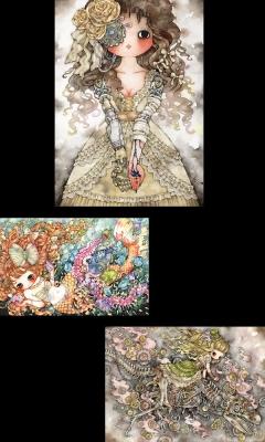 たま個展【Secret Mode】-少女主義的水彩画集Ⅳ出版記念-