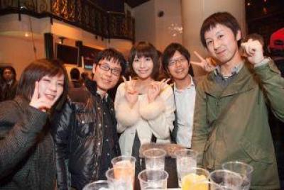 12/31(月)表参道 大晦日さよなら2012☆よろしく2013豪華絢爛パーティー/600名パーティー
