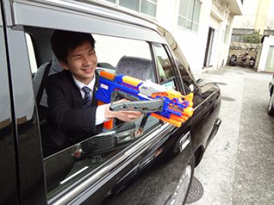 タクシー流鏑馬(やぶさめ)
