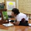 絵画展 口と足で表現する世界の芸術家たち(徳島)