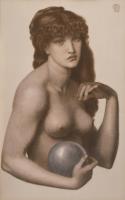 ダンテ・ガブリエル・ロセッティ 《マドンナ・ピエトラ》  1874年、郡山市立美術館、通期展示