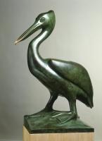《ペリカン》 ブロンズ 1924年 ディジョン美術館蔵(国立自然史博物館より寄託) ©Musée des Beaux-Arts de Dijon/François Jay