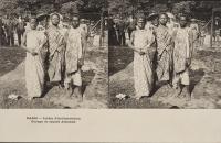 「ジャワ村」(パリ万国博覧会)1889年、個人蔵