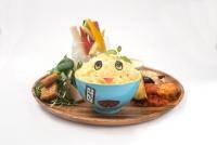 肉なっしープレート ★オリジナルお椀つき ¥1,880 ☆お椀なし ¥1,380 ※写真はイメージです