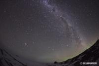 南極の星空  (C)国立極地研究所