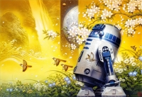 Tsuneo Sanda Labyrinthr©Lucasfilm/Disney The Artwork at this event is officially licensed through Acme Archives, Ltd. This event is not sponsored by or associated with Star Wars, Disney or Lucasfilm. Officially Licensed Artwork by Acme Archives Ltd.
