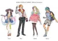 世界コスプレサミット公式キャラクターラ ©WCS / Kishida Mel