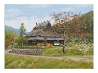 「田舎家(2)」 安達 巌