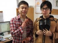 ベンサン.JPの飯田店長と松澤さん