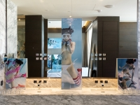 Hotel Art Fair Bangkok 2018での展示(撮影:逢坂憲吾)