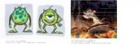 ピクサーがアニメーション制作で最も大事にしている「ストーリー」「キャラクター」そして「世界観」を、多才なアーティストたちが様々な技法を使って表現!