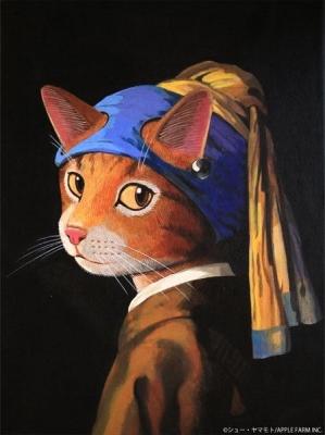 CAT ART美術館 SHU YAMAMOTO 名画になった猫たち