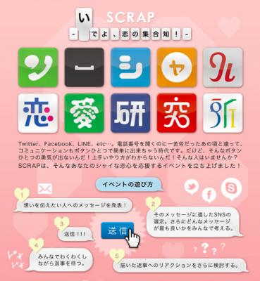 ソーシャル恋愛研究所〜いでよ!恋の集合知〜