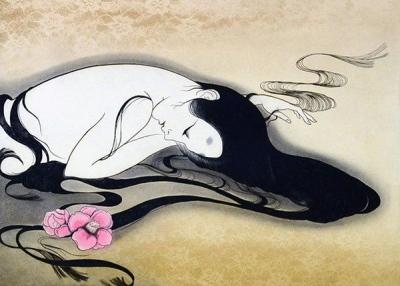 小林ドンゲ展「ビュランの花」